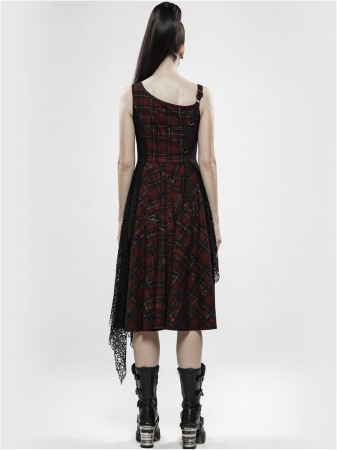 Misanthrope black/red dress WQ-457/BK-RD Punk Rave2