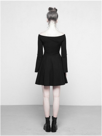 MoonGirl dress OPQ-326/BK Punk Rave1