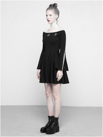 MoonGirl dress OPQ-326/BK Punk Rave2
