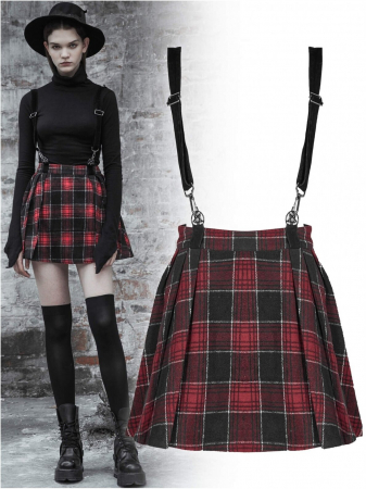 Red Alice skirt OPQ-447/RED Punk Rave0