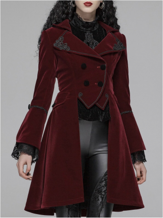 Red Swan jacket WLY-089-RD Punk Rave2