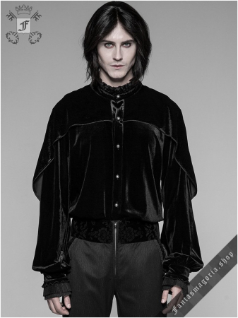 Romantic goth shirt WY-926/BK Punk Rave0