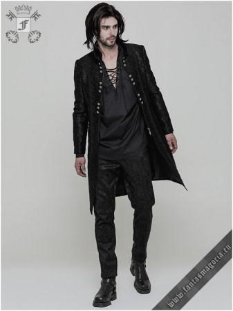 Valter Gothic men's jacket WY-850/BK Punk Rave1