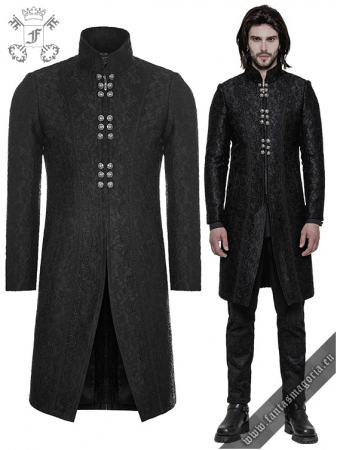 Valter Gothic men's jacket WY-850/BK Punk Rave0