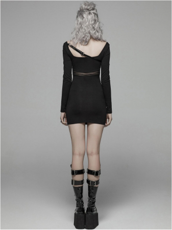 Vendetta dress WQ-425-BK Punk Rave2