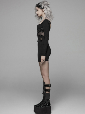 Vendetta dress WQ-425-BK Punk Rave1