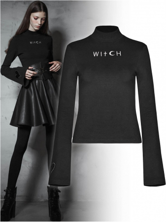 Witch top OPT-293/BK Punk Rave0