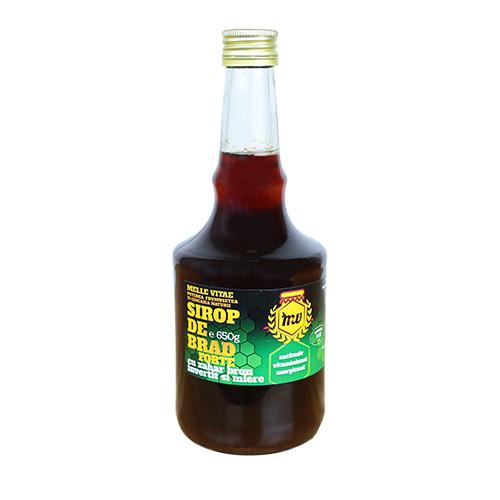Sirop de Brad cu zahar brun invertit si miere ,mellevitae ,650g 0