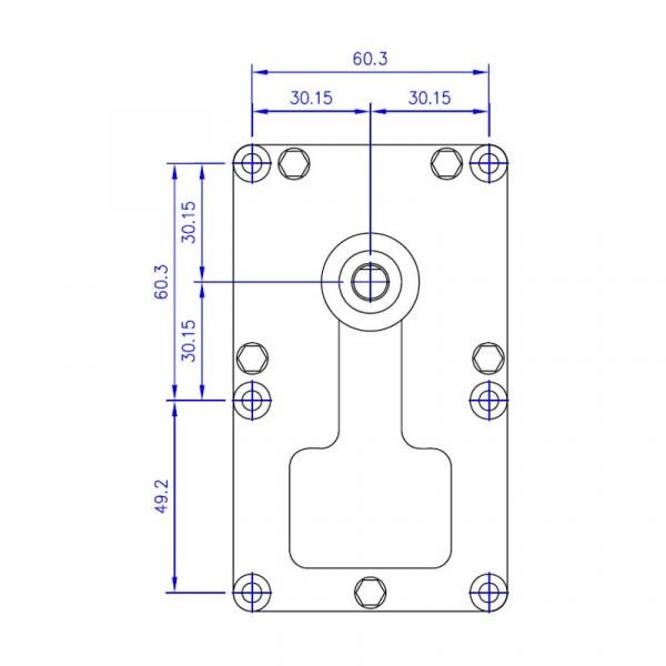 Motor reductor snek, centrale peleti,4,75 rpm ax8,5mm 2