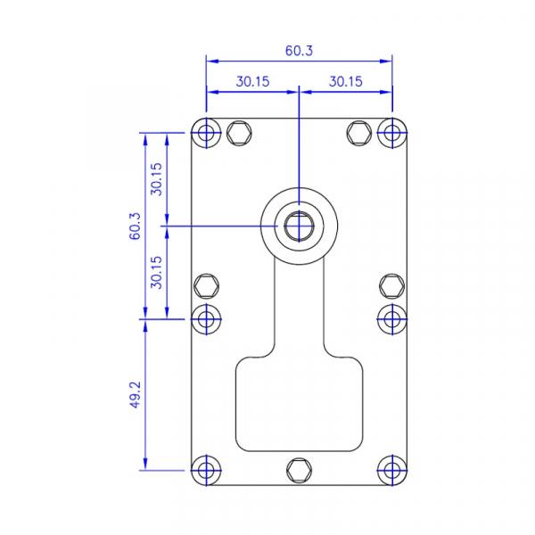 Motor reductor snek, centrale peleti,5,3rpm  ax 8,5mm 3