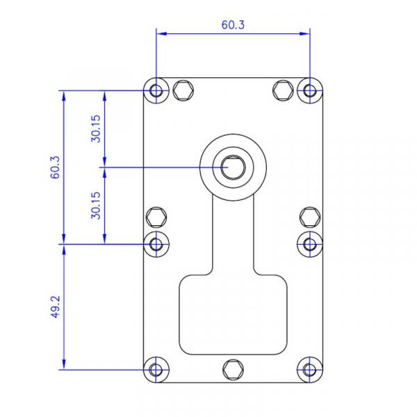 Motor reductor snek, centrale peleti, 1,5 rpm, ax 8,5mm 3