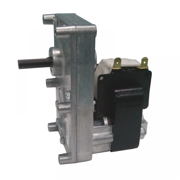 Motor reductor snek, centrale peleti, 2 rpm, ax 8,5mm 0