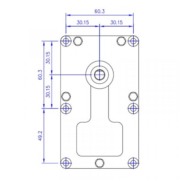 Motor reductor snek, centrale peleti, 8 rpm ax 8,5mm 1