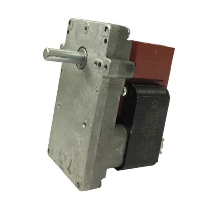 Motor reductor snek, centrale peleti,1,5 rpm ax 8,5mm 0