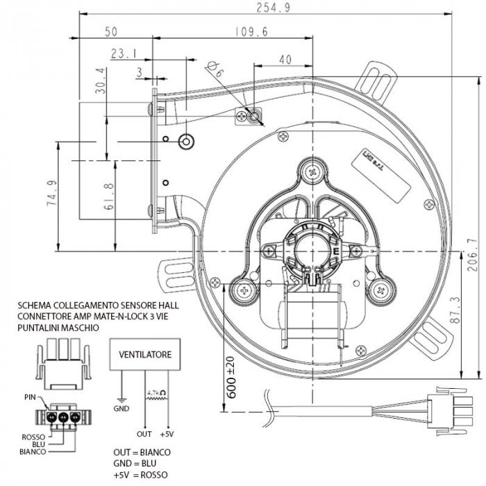 Extractor - extractor de fum pentru sobele cu peleți. 3