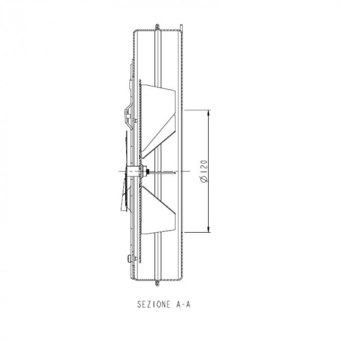 Extractor - extractor de fum pentru sobele cu peleți. [3]