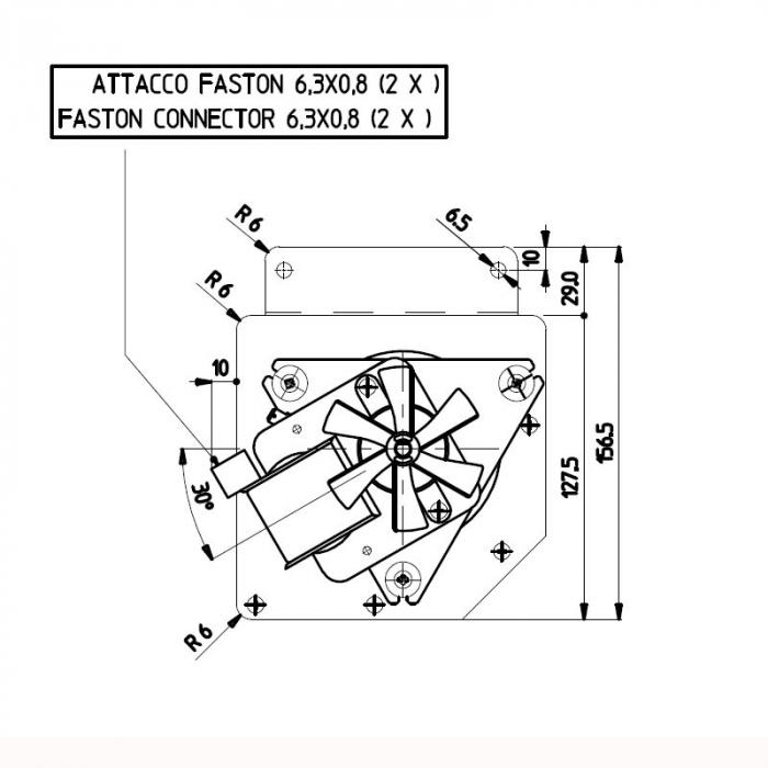 Ventilator tangential Fergas 148402 [2]