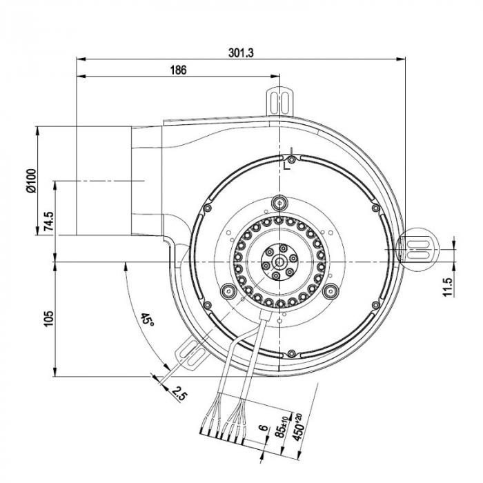 Extractor de fum G2E180-CG82-11 [1]
