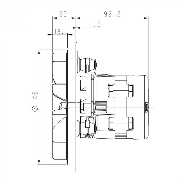 Ventilator extractor de fum  PL20CE0120 2