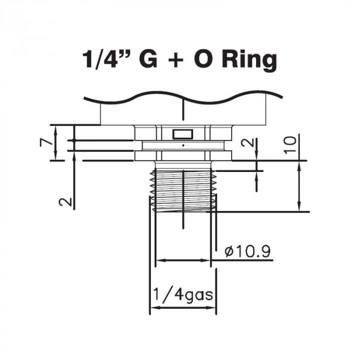 Presostat senzor de presiune 1 bar 1
