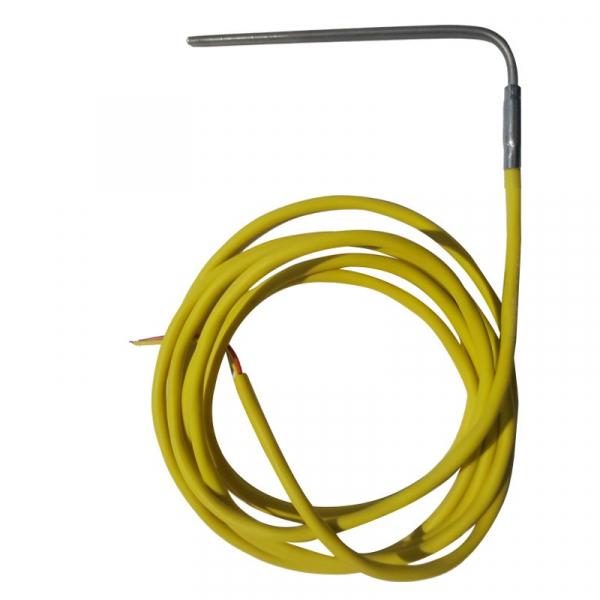 Termocuplu curbat TCK cu cablu siliconic 0