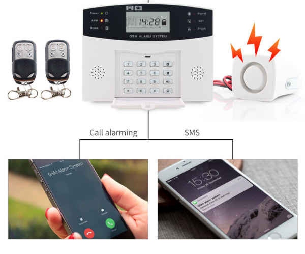 ALARMA WIRELESS GSM PG-500 IN LIMBA ROMANA 1