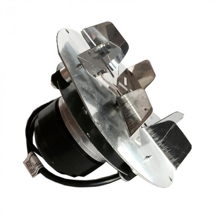 Extractor de fum  pentru sobe cu peleți , motor ECOFIT 2RECA3 [0]