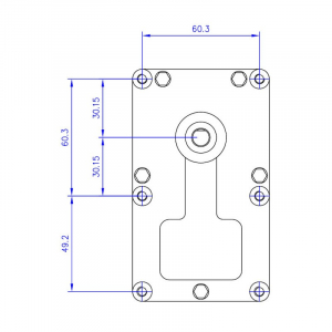 Motor reductor snek, centrale peleti, 2,5 rpm, ax 8,5mm [1]