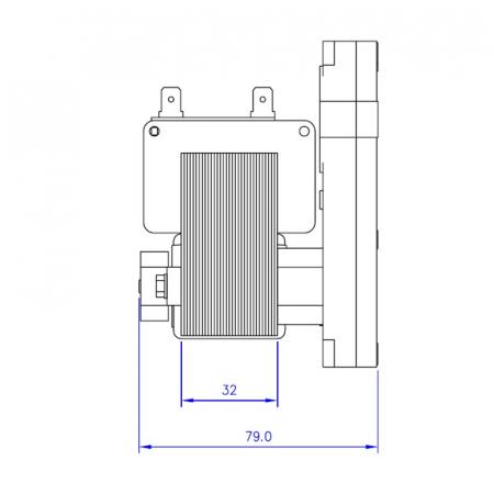 Motor reductor snek, centrale peleti,5 rpm KB1008 [2]