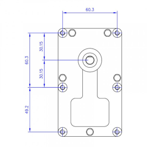 Motor reductor snek, centrale peleti, 3 rpm ax 8,5mm3
