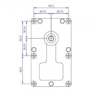 Motor reductor snek, centrale peleti, 8 rpm ax 8,5mm1