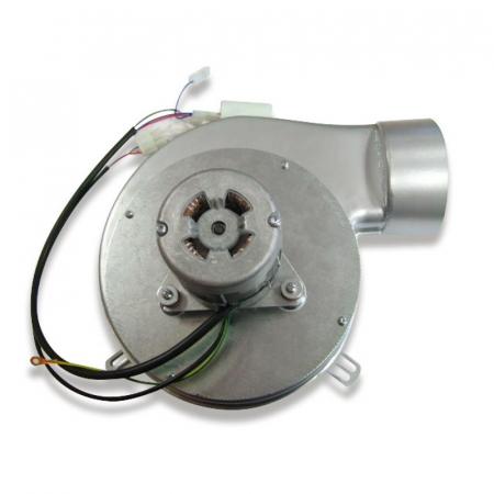 Extractor - extractor de fum pentru sobele cu peleți. [0]