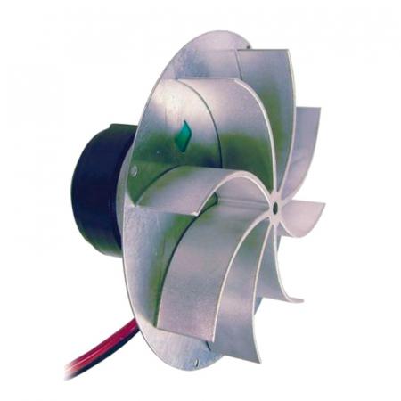Extractor de fum  pentru sobe cu peleți , motor ECOFIT 2RECA3.0