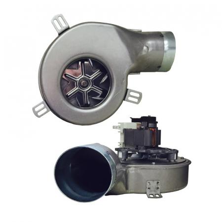 Extractor de fum pentru sobe de peleți. G2E152 / 0020-3030LH-6090