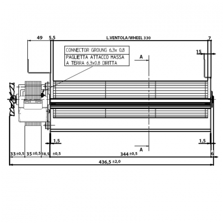 Ventilator tangențial 153612 [2]