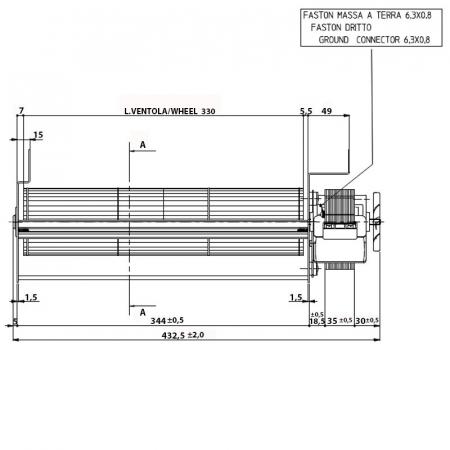 Ventilator tangential Fergas 148402 [1]