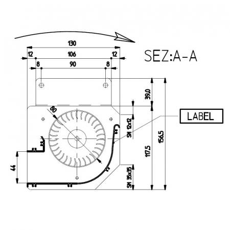 Ventilator tangential Fergas 148402 [3]