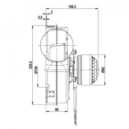 Extractor de fum G2E180-CG82-11 [2]