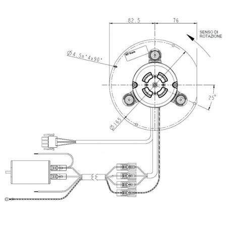 Ventilator extractor de fum  PL20CE01200
