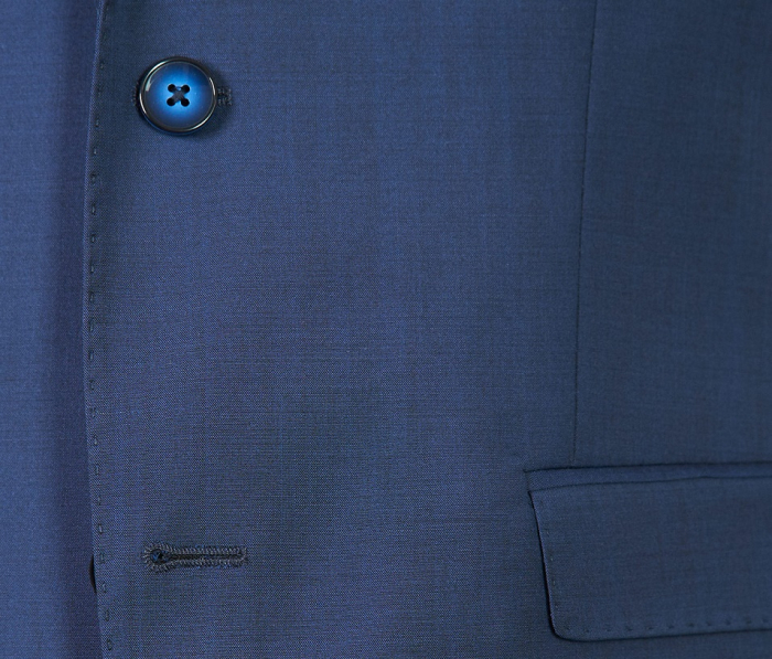 Costum barbati bleumarin din lana [2]