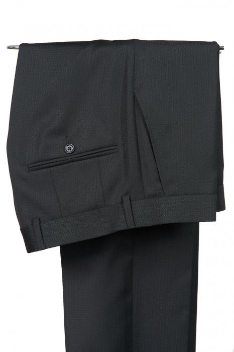 Costum de ceremonie tuxedo negru [3]