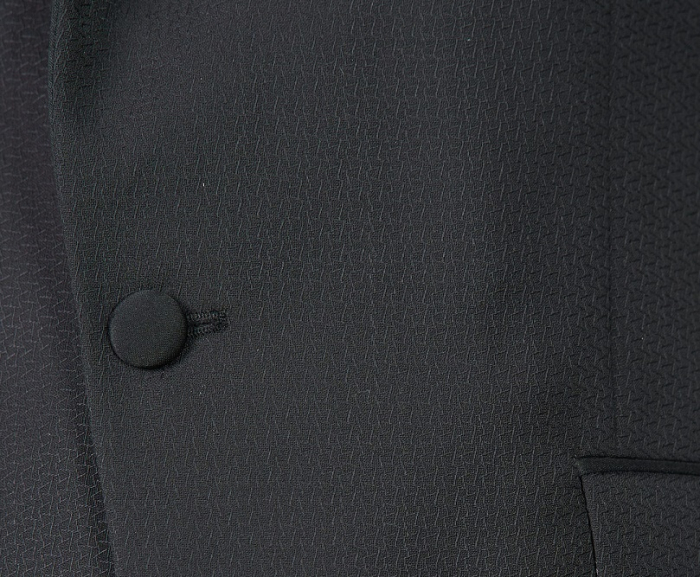 Costum de ceremonie tuxedo negru [2]