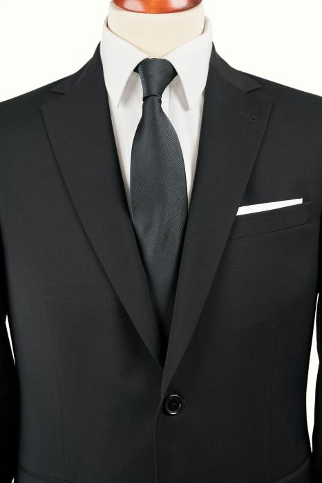 Costum barbati negru din lana [1]