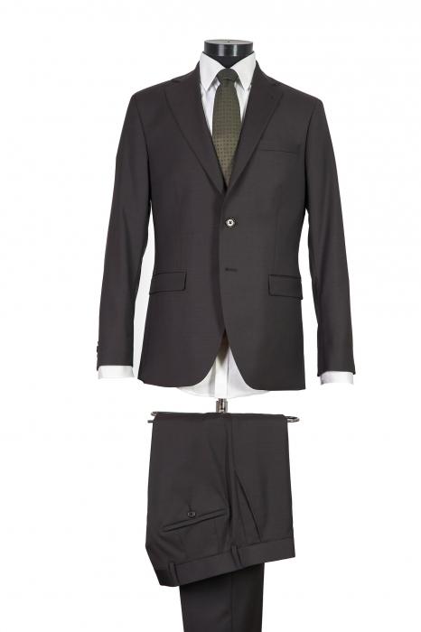Costum barbati slim din lana [0]