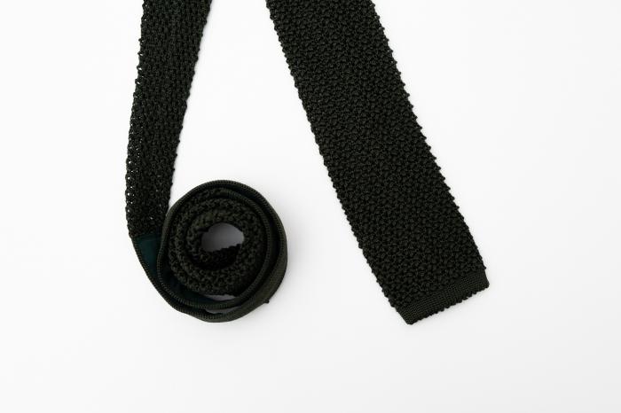 Cravată handmade mătase tricotată [0]