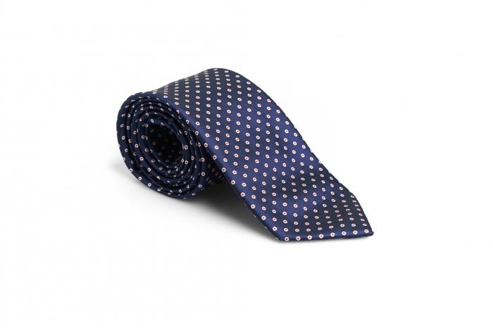 Cravata matase model cu buline [0]