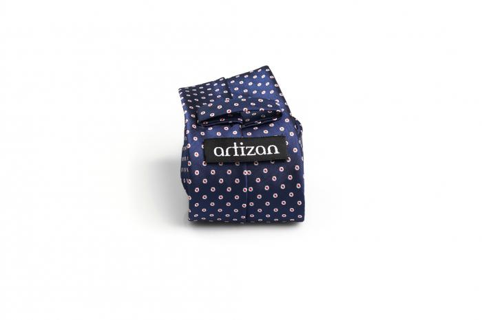 Cravata matase model cu buline [1]