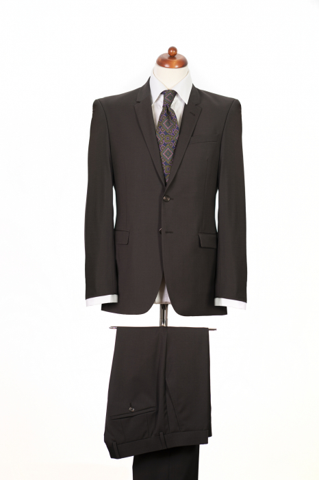 Costum barbati maro din lana [0]