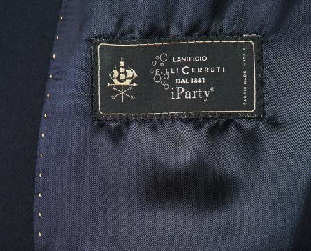 Sacou smoching bleumarin cu negru [1]