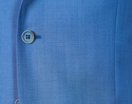 Costum barbati bleu din lana [2]